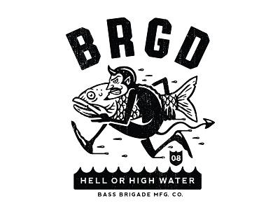 BRGD design t-shirt illustration apparel graphics
