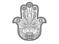 The Yoga House Hamsa Hand