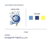 Bluebumblemedia brand board