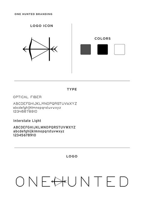 Onehunted brand board