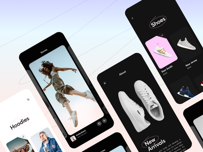 📸 Instagram Redesign : Stories & Marketplace interface design experience design mobile app mobile app design typography ios app design cards grid marketplace iphone ios app clothes fashion product ui clean ux mobile ios app