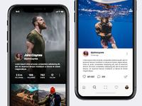 Instagram Redesign (iOS)