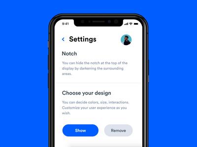 Hide the Notch (iOS)