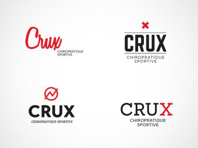 Logo Crux — Chiro sportive