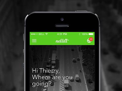 Netlift iPhone app app iphone