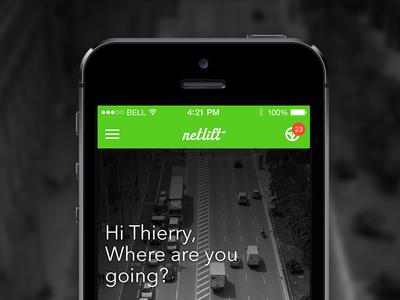 Netlift iPhone app