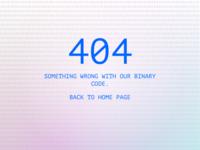 Daily Ui #008 - 404