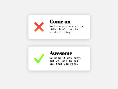 Daily Ui #011 - Flash Message success error