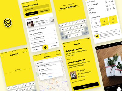 Abeille Rush - App messenger geolocation map service delivery challenge app