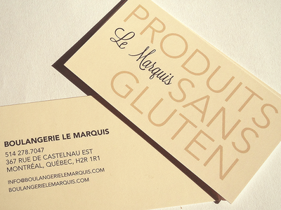 Breadmaker - Logo and business card