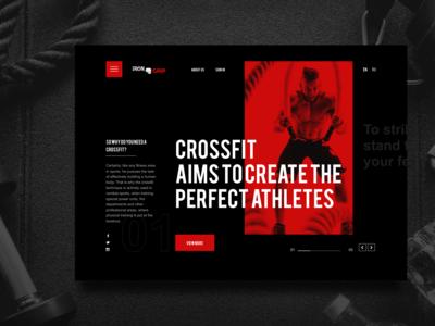 Crossfit / Web site design