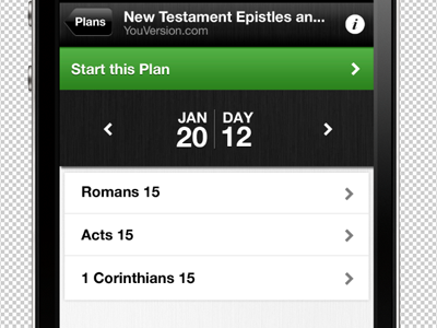Reading Plan on YouVersion, The Bible App by Andy Knight on