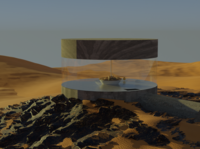 Desert interior architecture