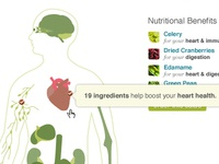 Nutritional Benefits Interactive