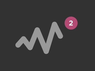 I got two invites. illustration invite dribbble prospect notification pink draft 2 logo