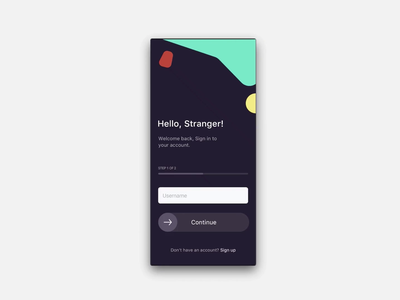 Login Animation drag interaction input form product design interface prototype protopie mobile ux animation ui design 2020 app