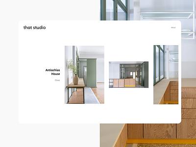 that studio black  white website no ui photography typography 2021 web interface design clean ui ux white minimal studio architecture
