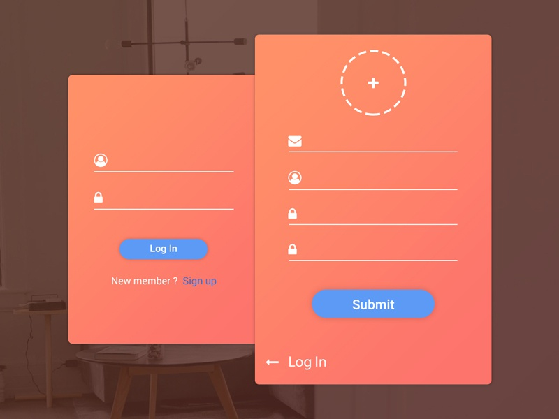 Daily UI #03 mobile ui design ui