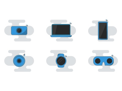 Smart devices illustrations