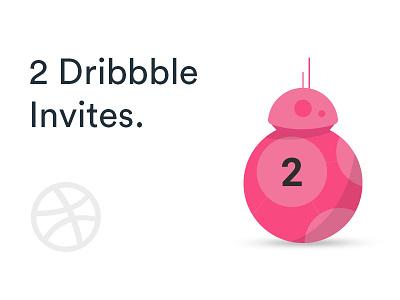 2 Dribbble invites dribbble invites dribbble invite invite