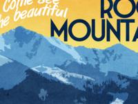 Colorado Travel Print