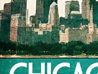 Chicago Travel Print