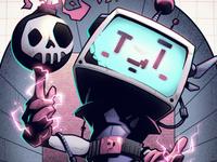 Bomberman Tribute 💣 👾 bomb science fiction sci-fi 8-bit throwback fan art digital art comic art poster konami arcade games retro video games bomberman graphic design artwork graphic art design illustration