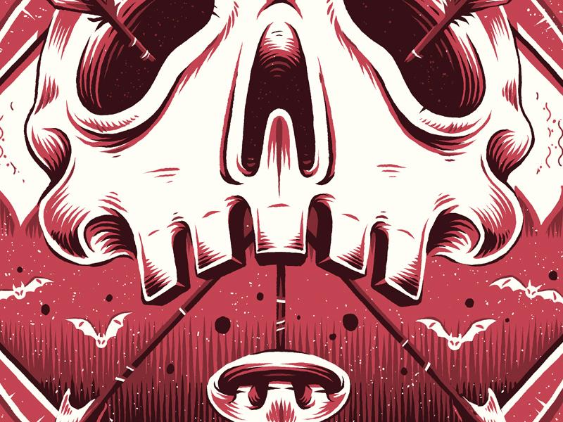 """Metal"" photoshop texture emblem graphic graphic design badge theory illustration genre music"