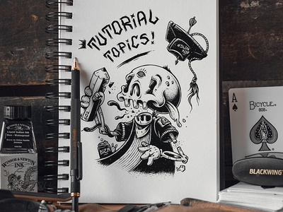 """Tutorials"" skull mock up photoshop texture sketch sketchbook illustration graphic design drawing artwork tutorial"