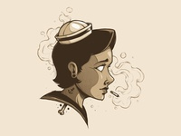 """""""Smoking Sailor"""""""