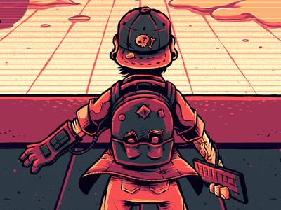 """Playtopia Poster"" playtopia gamers gamer gaming festival event poster print graphic design artwork art graphic design photoshop texture illustration"