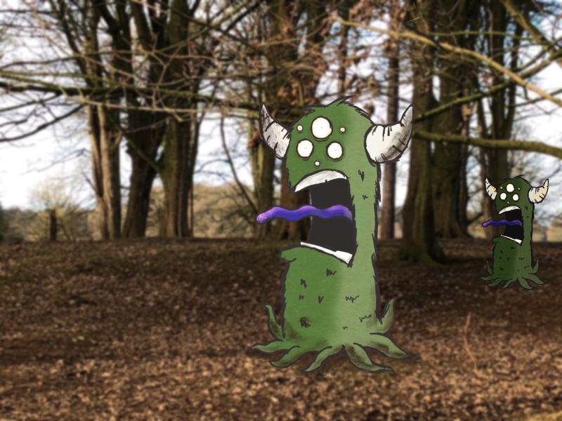 The Dangercolin illustration kidlit illo character character design monster creature