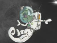 Chameleon in Space