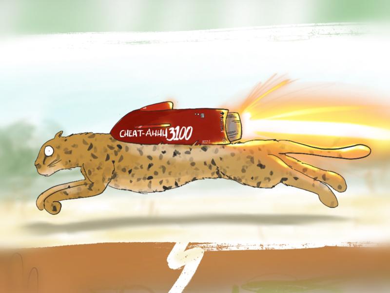 Rocket Cheetah (WIP) animals childrens books kid lit art kid lit cheetah rocket