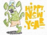 Happy New Year Dribbblers