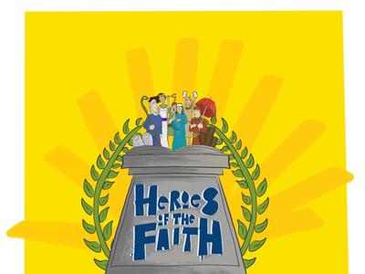 Heroes of the Faith advert logo