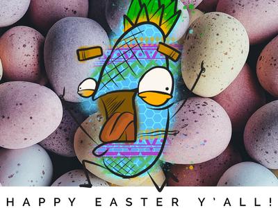 Happy Easter Dribbblers