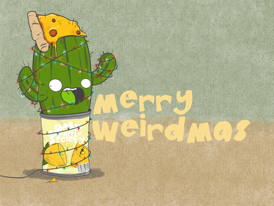 Merry weirdmas