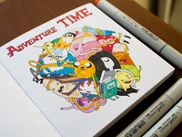 Adventure Time / Copic Markers
