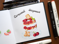 Dessert Illustration / Touch Markers