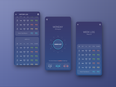 Work Time Tracker App