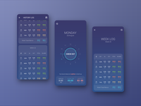 Work Time Tracker App