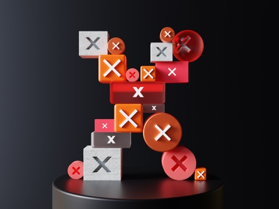 Close, close, close! skeumorphism skeumorphic 3d buttons buttons product installation evolution operating system user interface ui india composition 36daysoftype render branding blender3d 3d typography design illustration