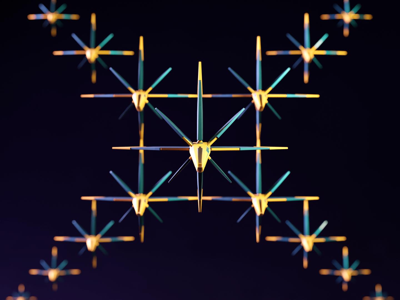 X - 36DaysofType06 36days-x 36daysoftype-x abstract blaster stars galaxy branding battle spaceship render composition type 36daysoftype blender3d marvel 3d blender typography design illustration