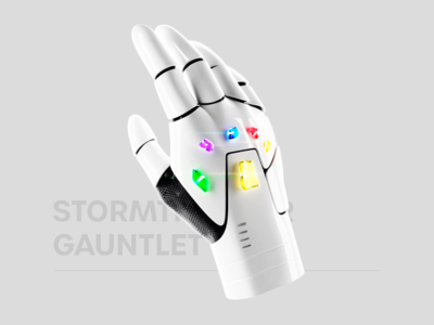 Stormtrooper Gauntlet - Renderweekly
