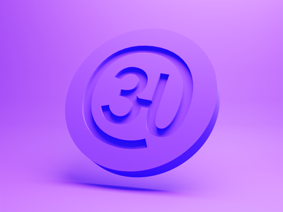 @anveshdunna - Logo design - variant 2 freelancer font typeface type design brand logomark logotype personal branding concept identity logo design branding icon typography blender3d 3d ui logo composition illustration