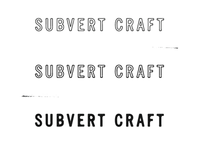 Subvert Craft Logo