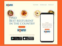 Round App Website