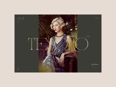 Photographer Folio – Index fashion photography interface webdesign website typography motion ui ux hero grid interaction animation index folio portfolio