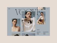 Photographer Folio – Project website webdesign ux ui typography portfolio photography motion interface interaction index hero grid folio fashion animation